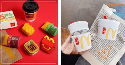 $3.80 McDonald's Food AirPods Cases In Singapore: Apple Pie, Happy Meal Box, Ice Cream Cone