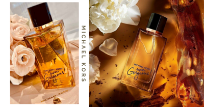 Michael Kors Has A New Perfume With A Sensual & Smoky Floral Scent, Housed In A Clear Gold-Tinted Bottle
