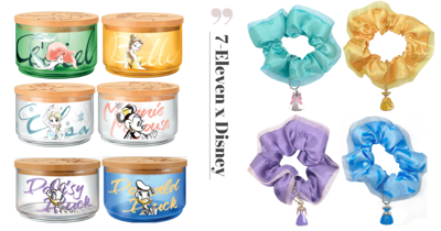 Exclusive Disney Merch Including Glassware, Hair Accessories, Bath Items & More Now Available At 7-Eleven